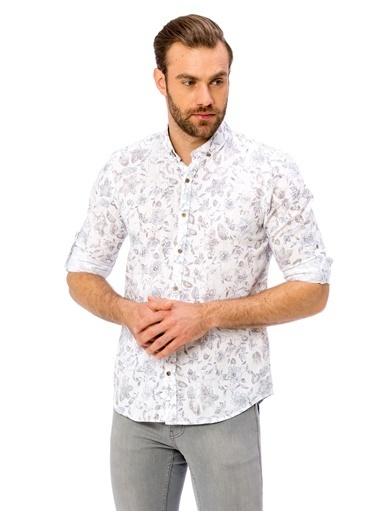 Desenli Uzun Kollu Gömlek-LC Waikiki